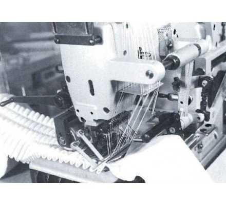 Plisseuse / Pré-plisseuse industrielle